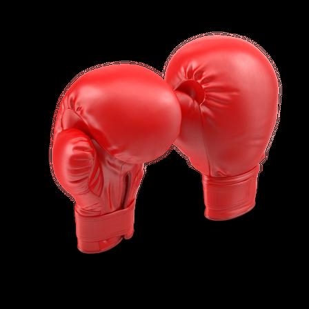 Rød boksehansker