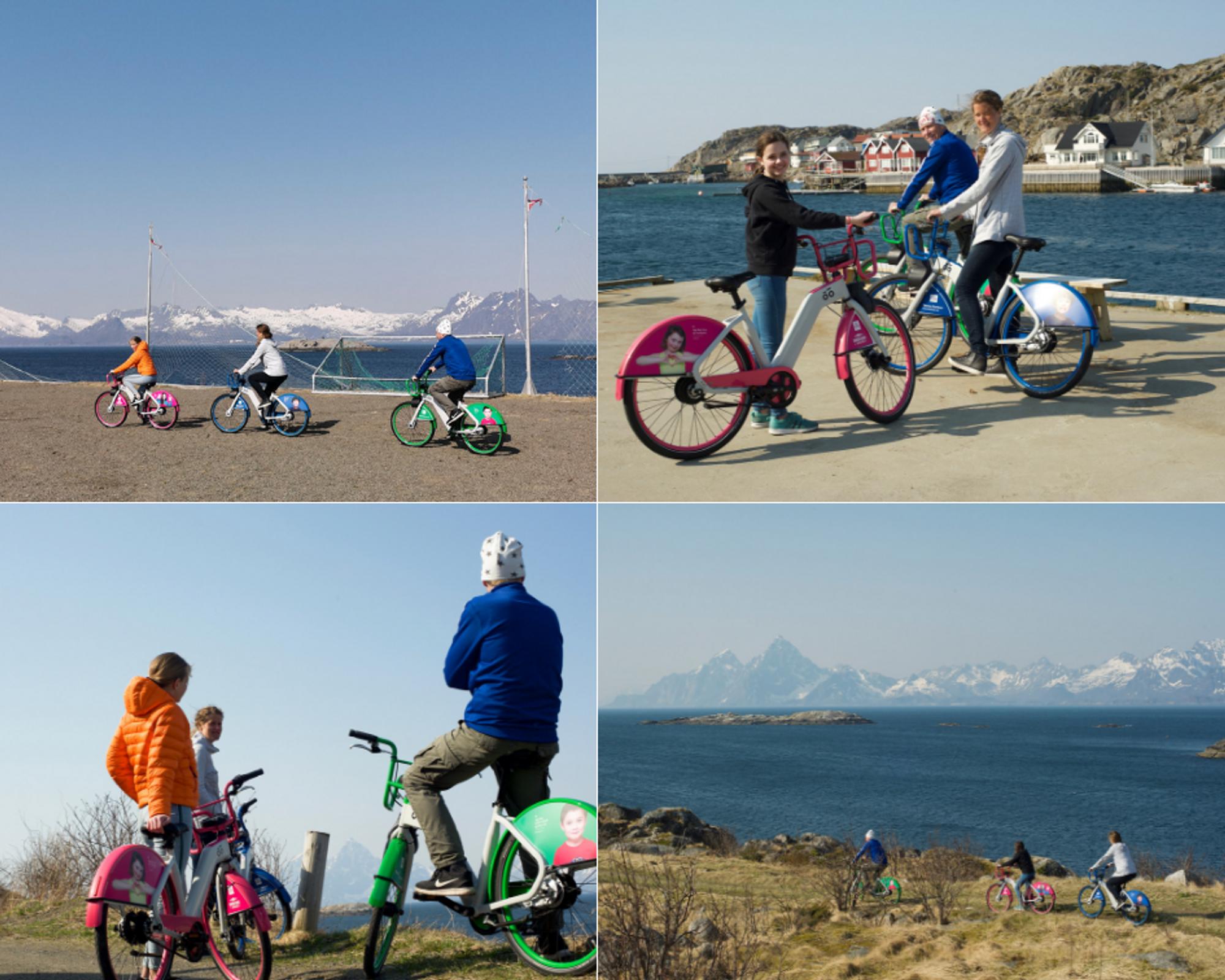 Skrova island bikes