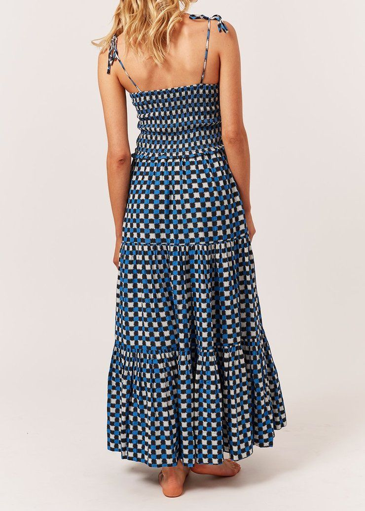 Product Image for The Indigo Dress, Knit Check