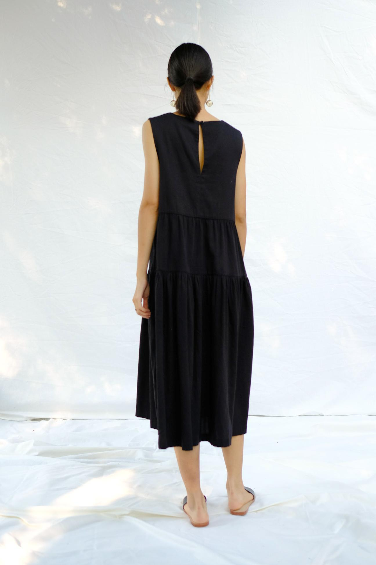 Product Image for Tier Dress, Black