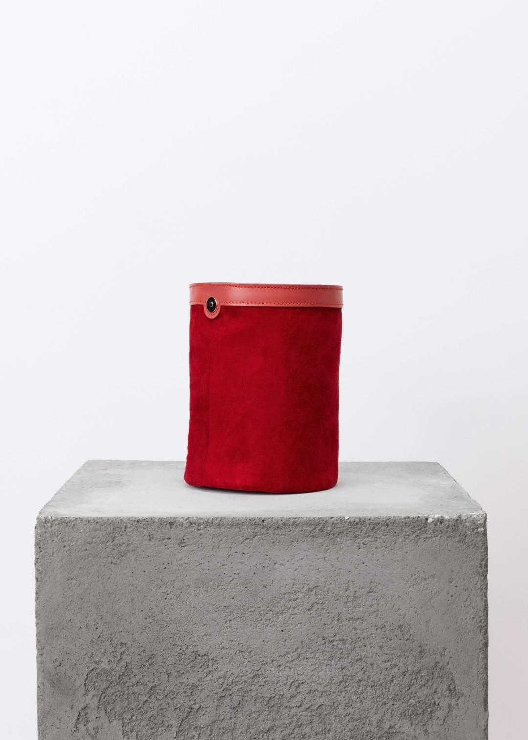 Product Image for Basket Bag, Salmon Bordeaux