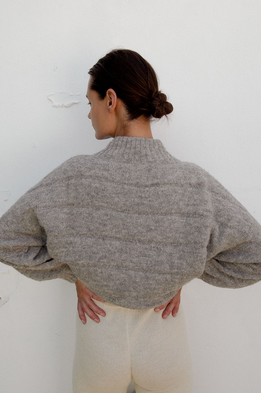 Product Image for Quilted Bomber, Heather
