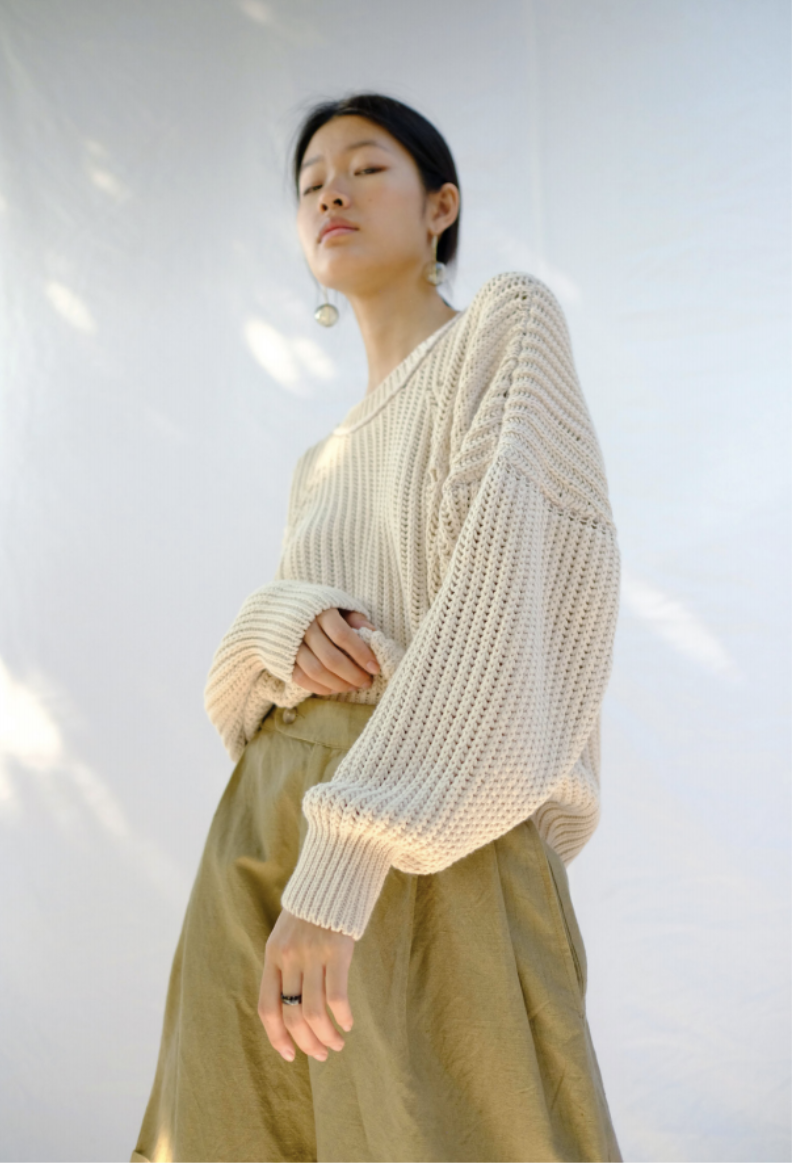 Product Image for Rei Pullover, Vanilla