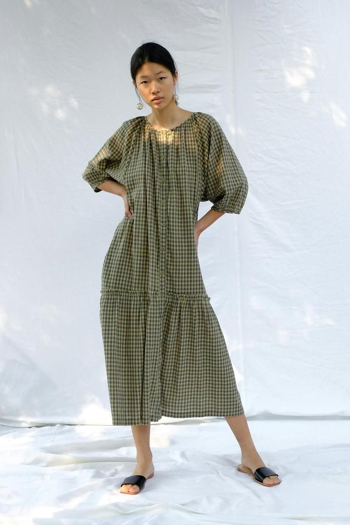 Product Image for Mette Dress, Gingham