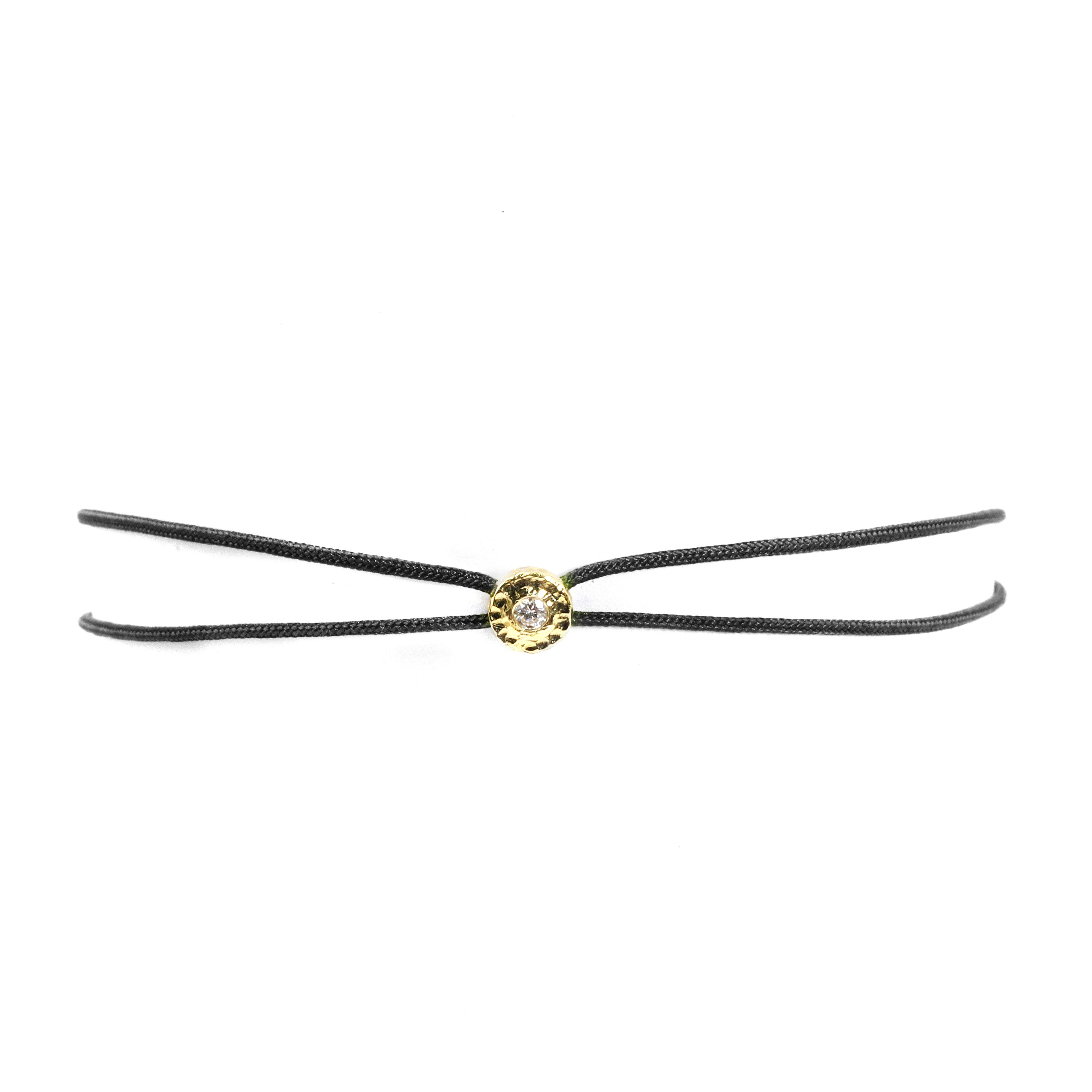 Product Image for Parachute Nesting Gem Bracelet, Black