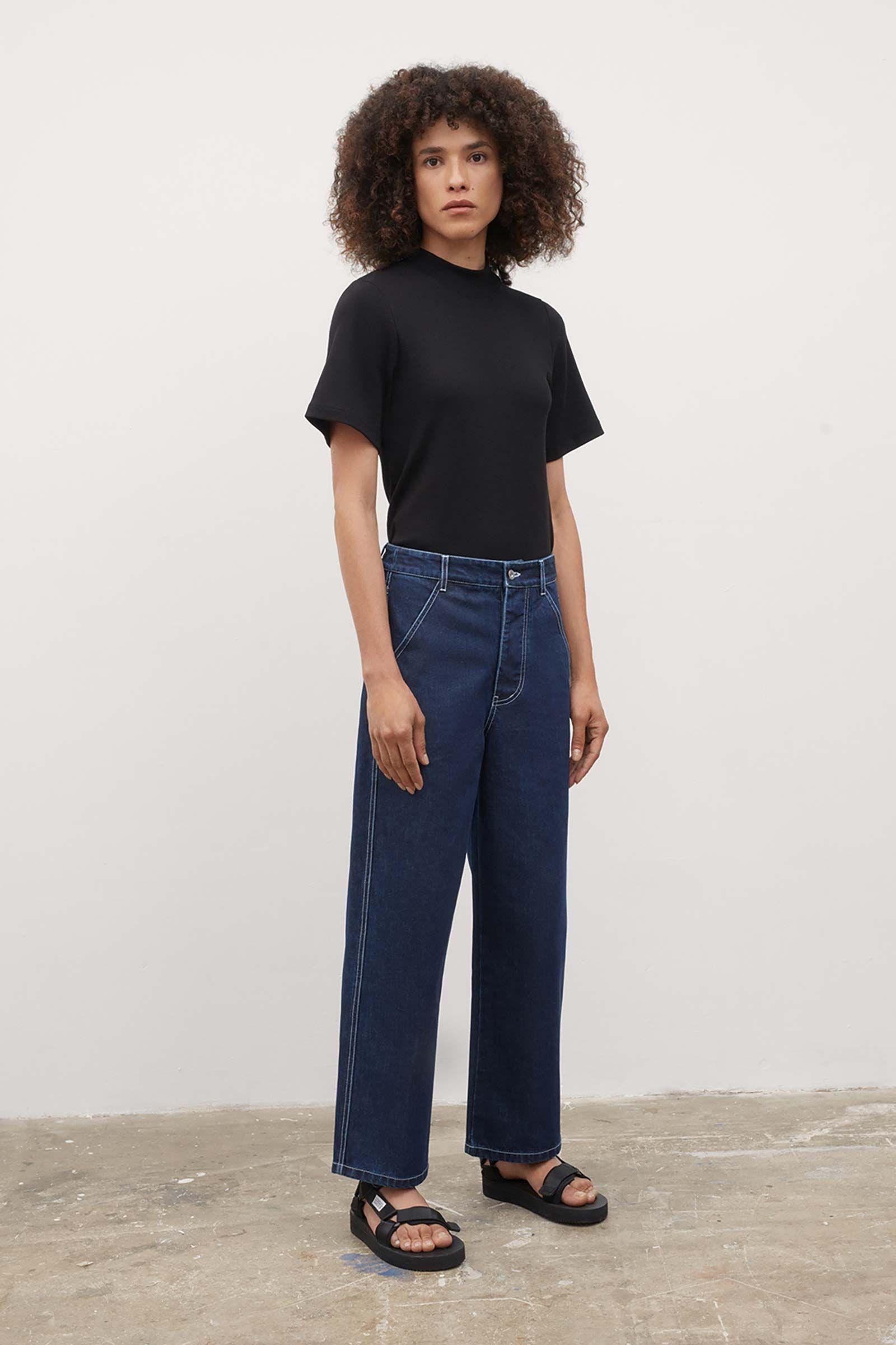 Product Image for Barrel Jeans, Indigo Denim