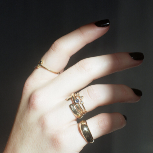Product Image for Willow Ring, White Diamonds