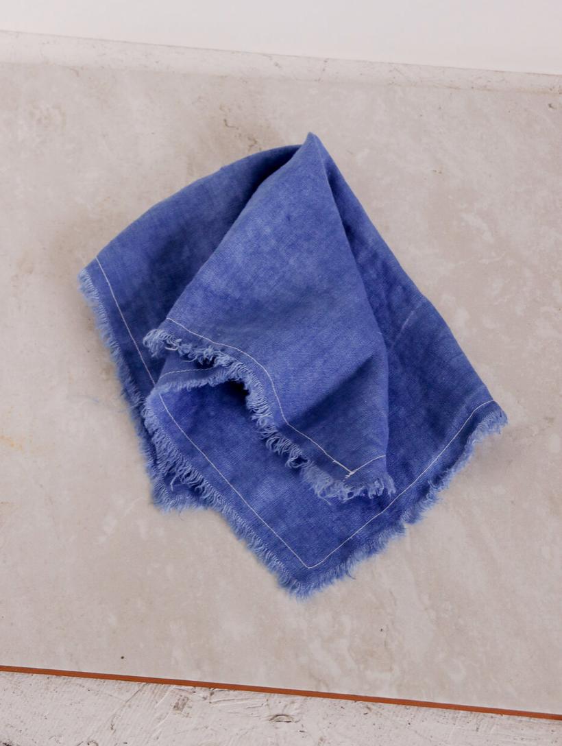 Product Image for Linen Napkin Set, Indigo