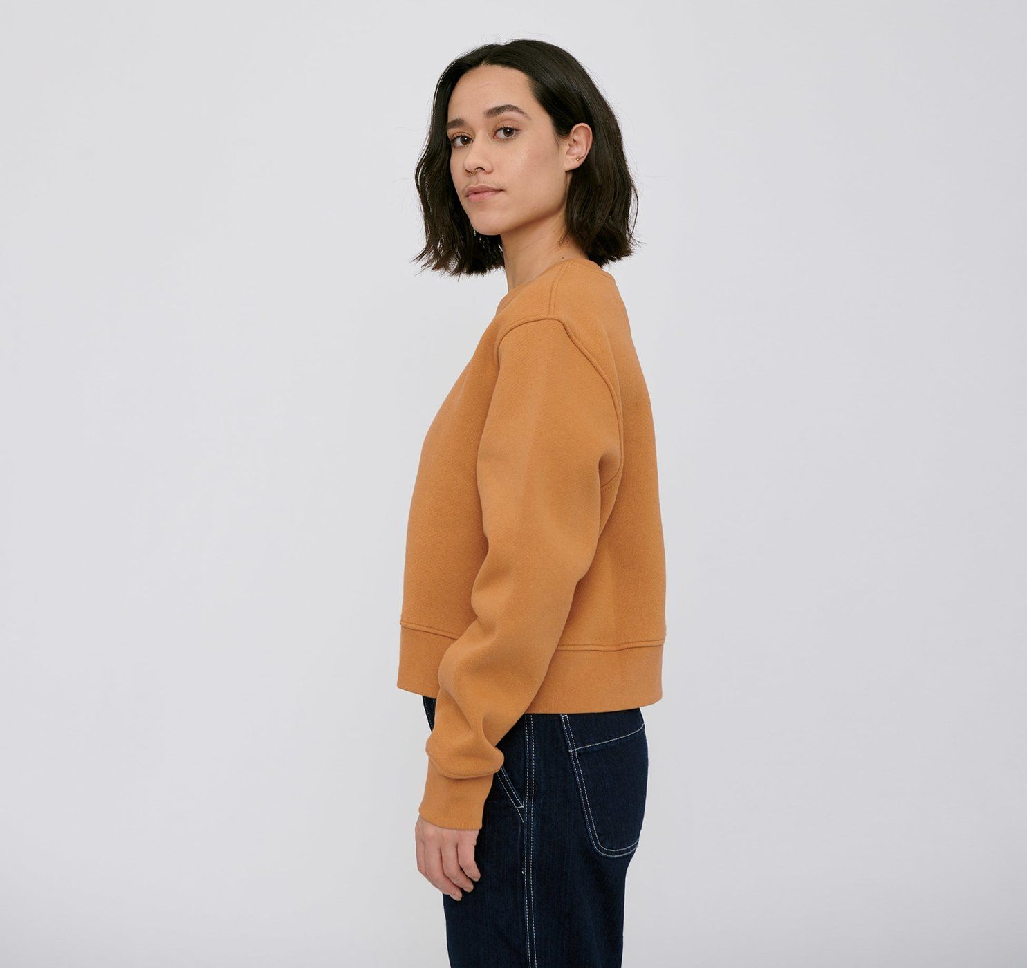Product Image for Organic Cotton Heavy Cropped Sweat