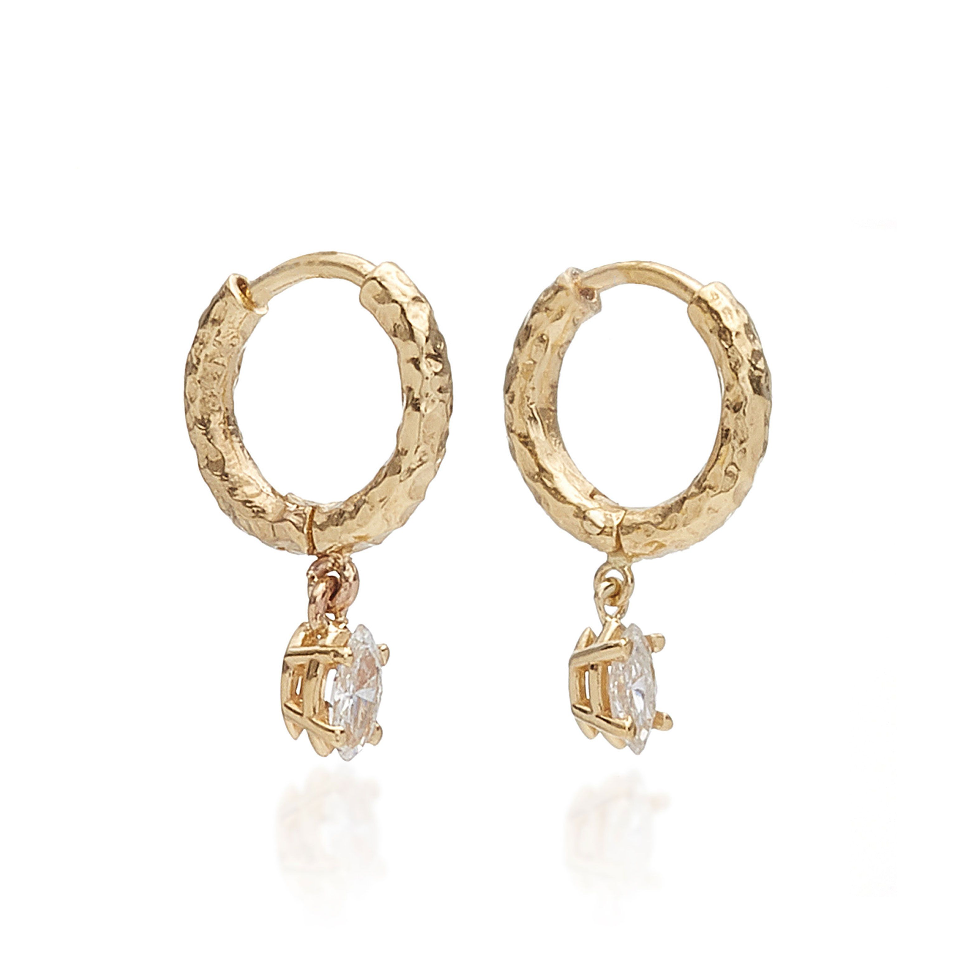 Product Image for Charmed Marquis Micro Gabby Hoops