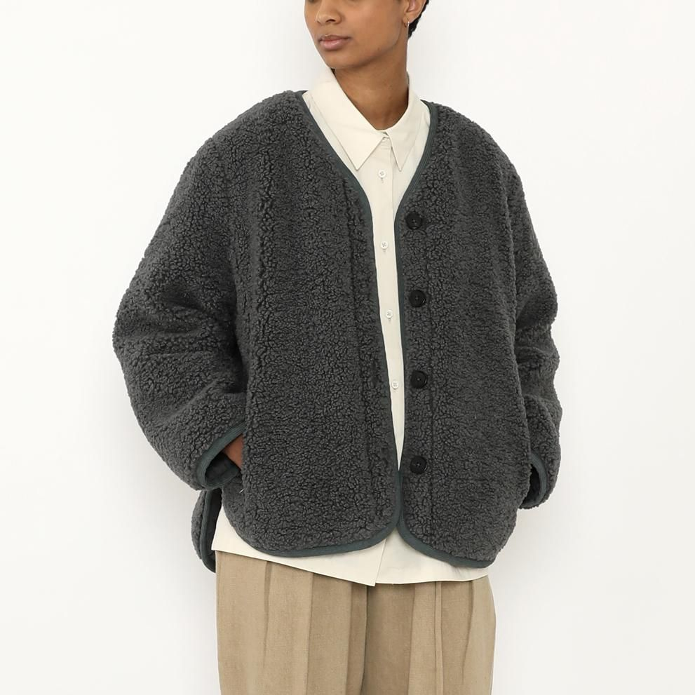 Product Image for Reversible Curly Jacket, Slate Gray