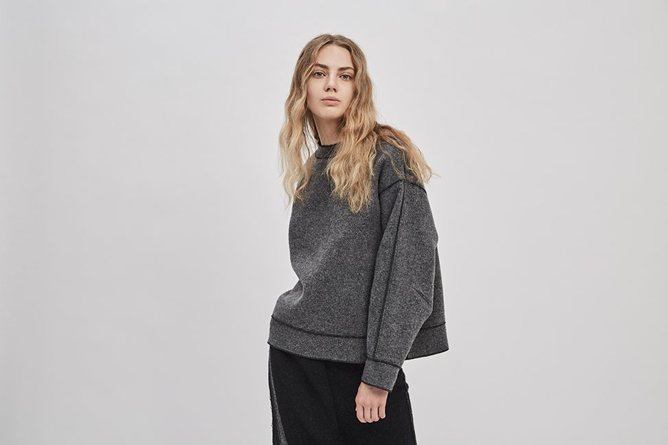 Product Image for Reversible Wool Pullover