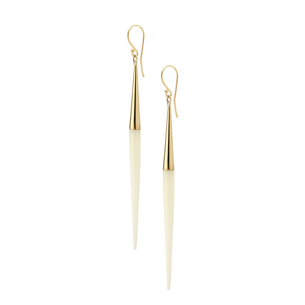 Product Image for Capped Quill Dangle Earrings