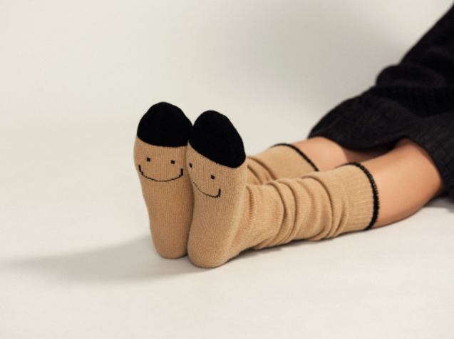 Product Image for Surprise Wool Knee High, Camel