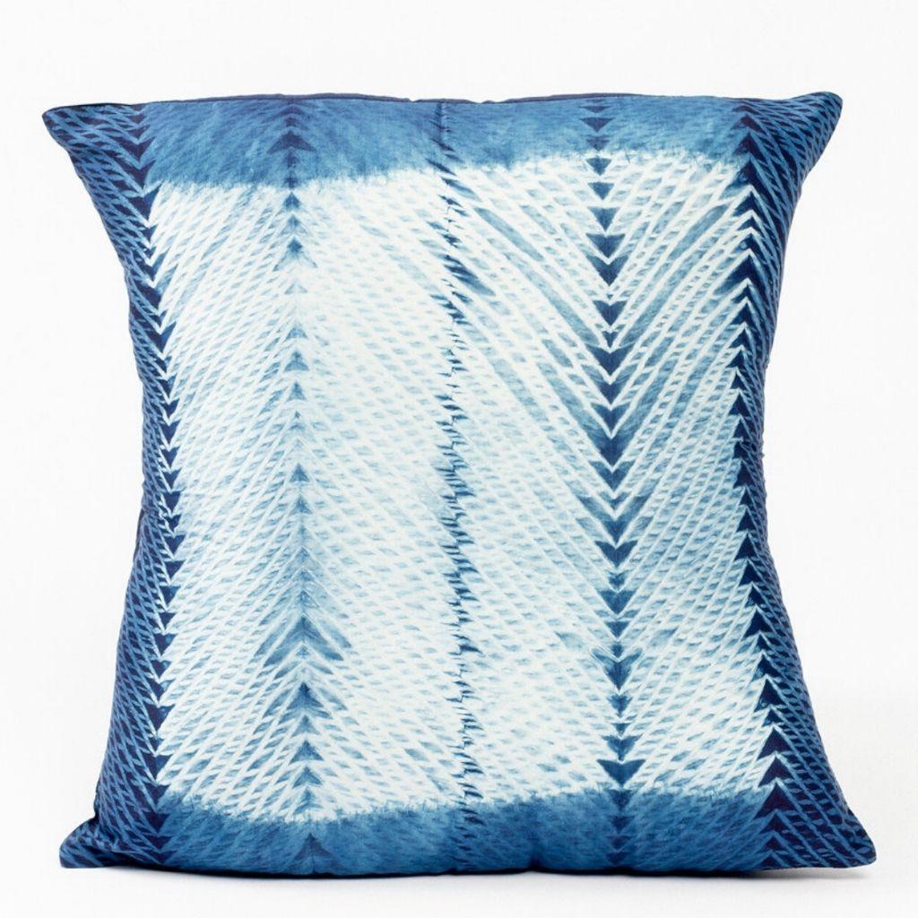 Product Image for Ara Indigo Silk Pillow