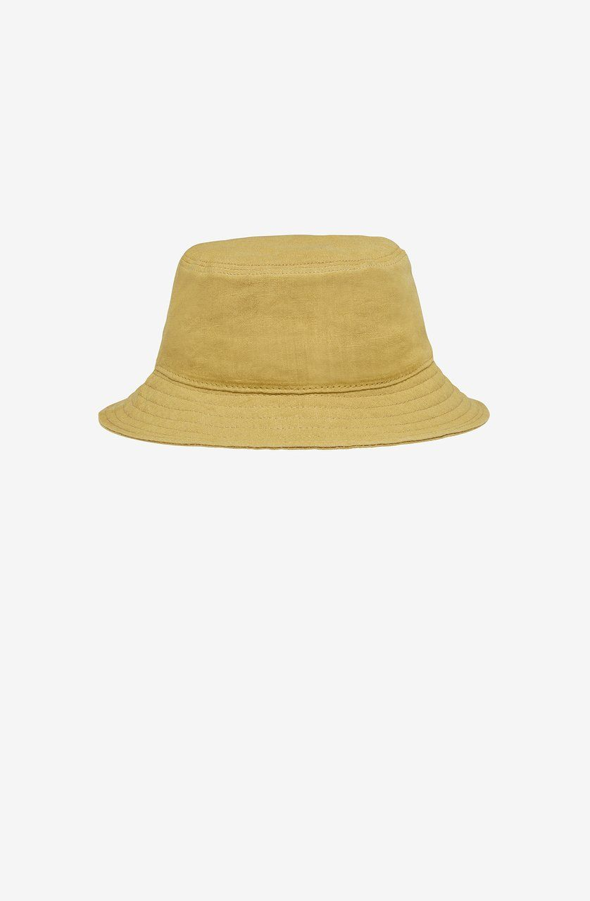 Product Image for Linen Bucket Hat, Vintage Khaki