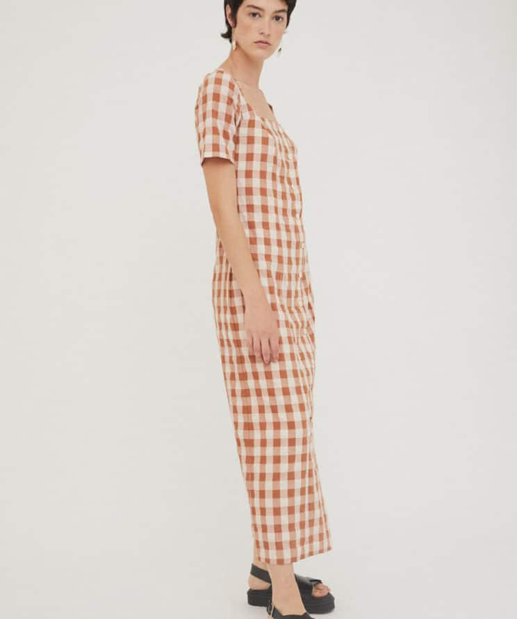 Product Image for Maria Long Dress, Brown