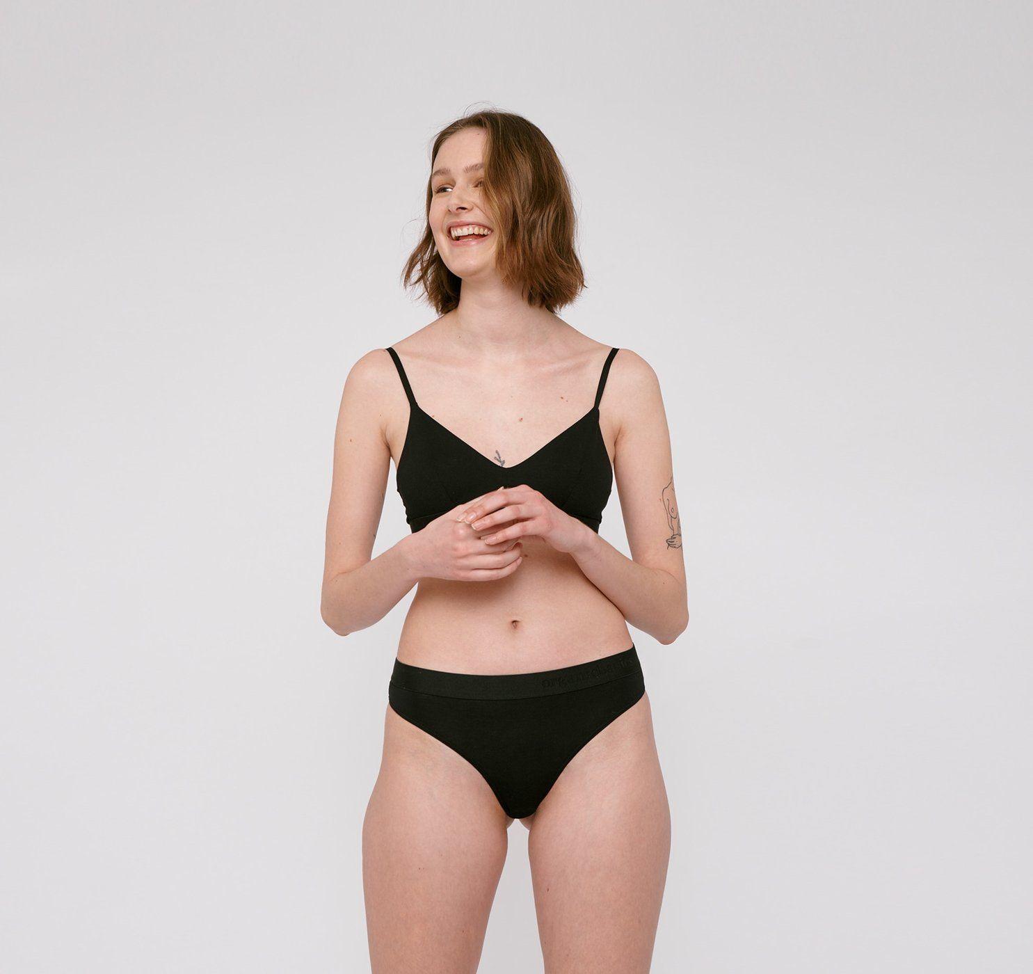 Product Image for TENCEL Lite Tanga, Black, 2-pack