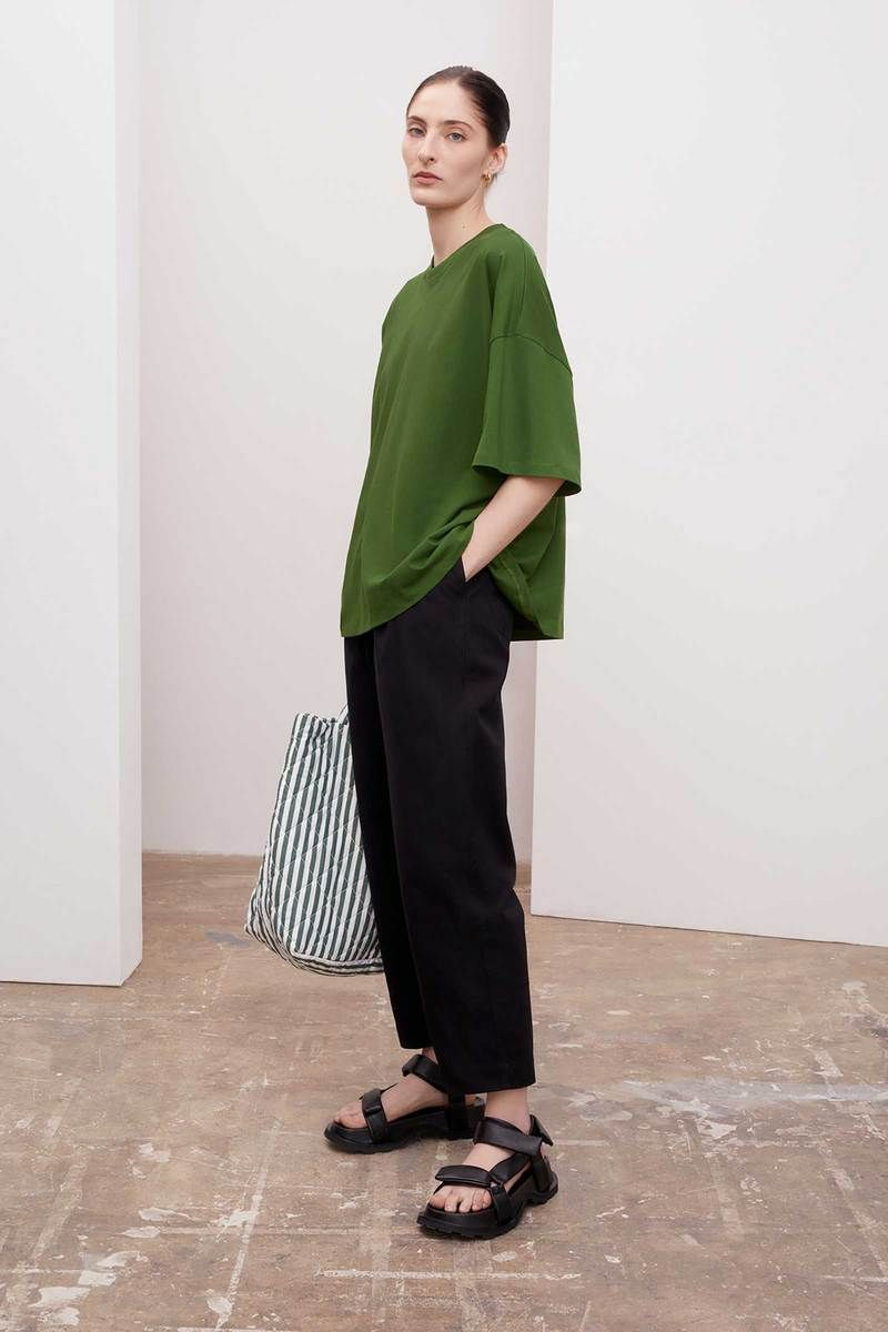 Product Image for Oversized Boxy Tee, Grass