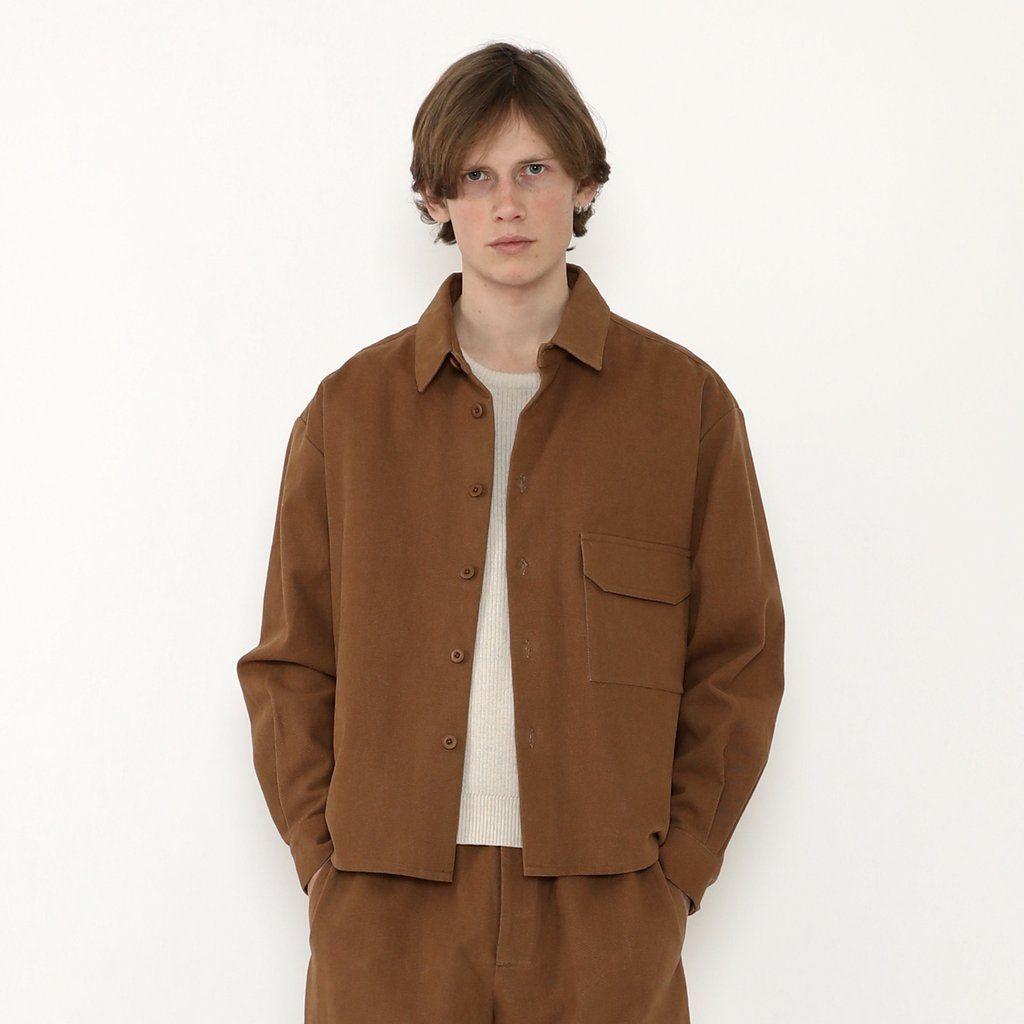 Product Image for Unisex Flat Hem Shirt, Cinnamon