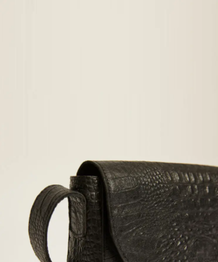 Product Image for Leo Bag, Black Croco