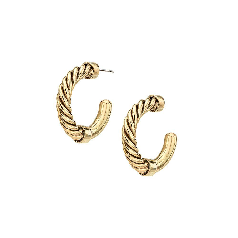 Product Image for Uzi Mini Hoop Earrings