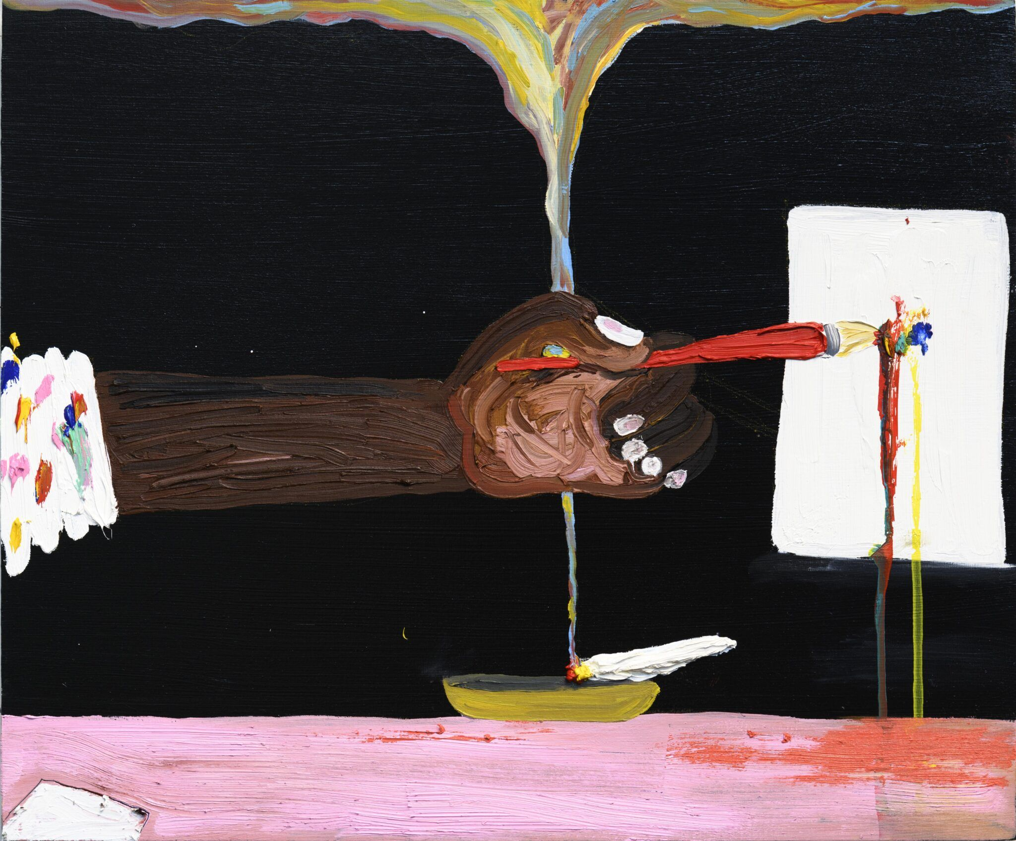 Devin Troy Strother, Black Night Painter, 2021.