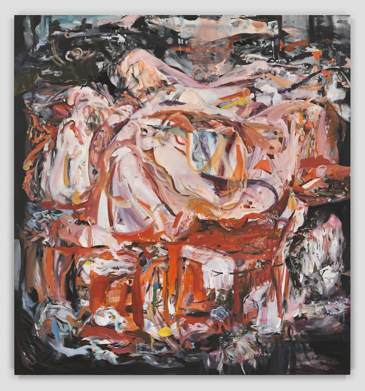 Cecily Brown, When this kiss is over, 2020