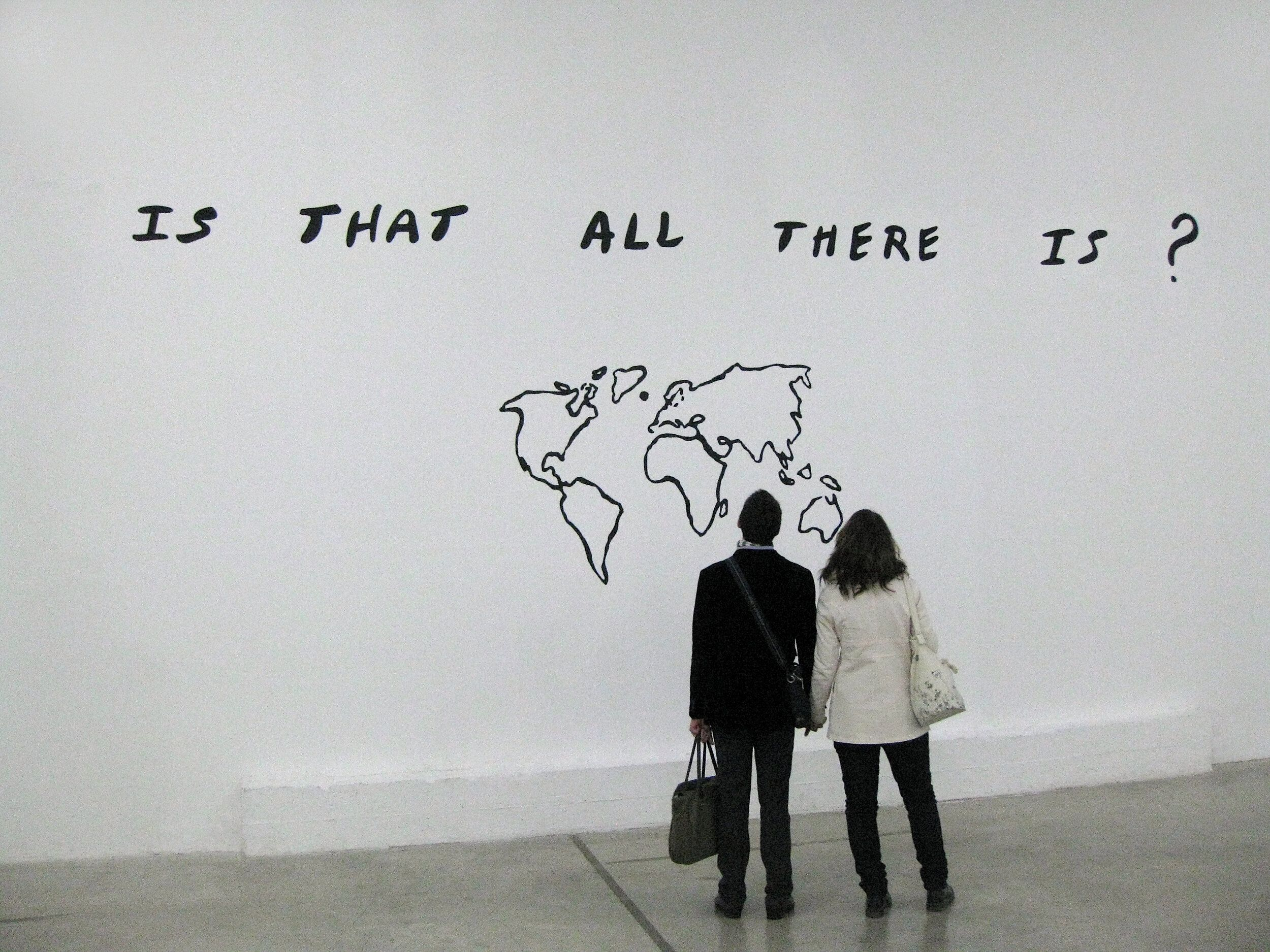 Jessica Diamond, Is That All There Is?, 1984/2010