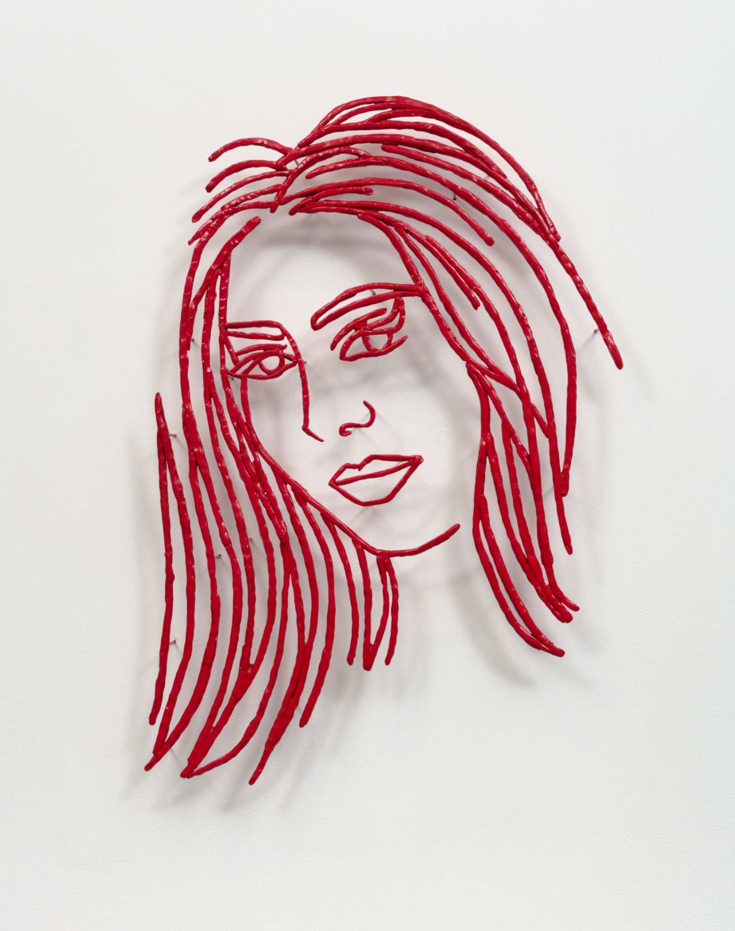 Ghada Amer, The Lady in Red, 2021 Boesky