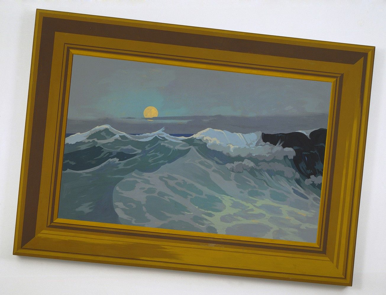 Matthew Benedict, Moon and Tides (The Eternal Subject), 2002, from