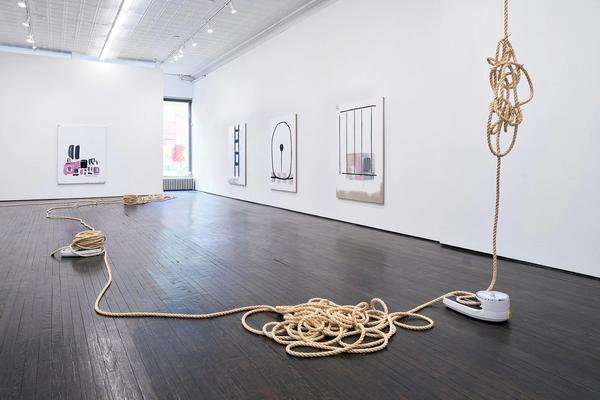 Margaret Lee, Ropes, Nails, Scales (in relation), 2021, in