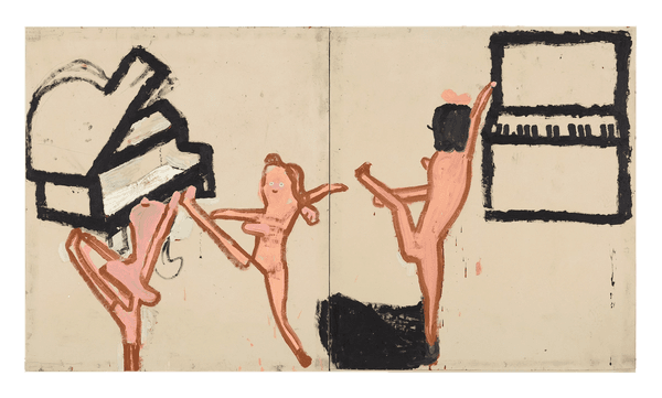 Rose Wylie, Highschool Cheerleaders, 2020