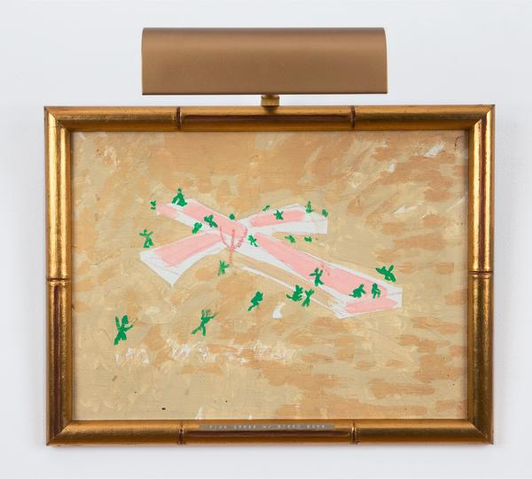 Paul Thek, Pink Cross and Green Buds, 1975-1980.
