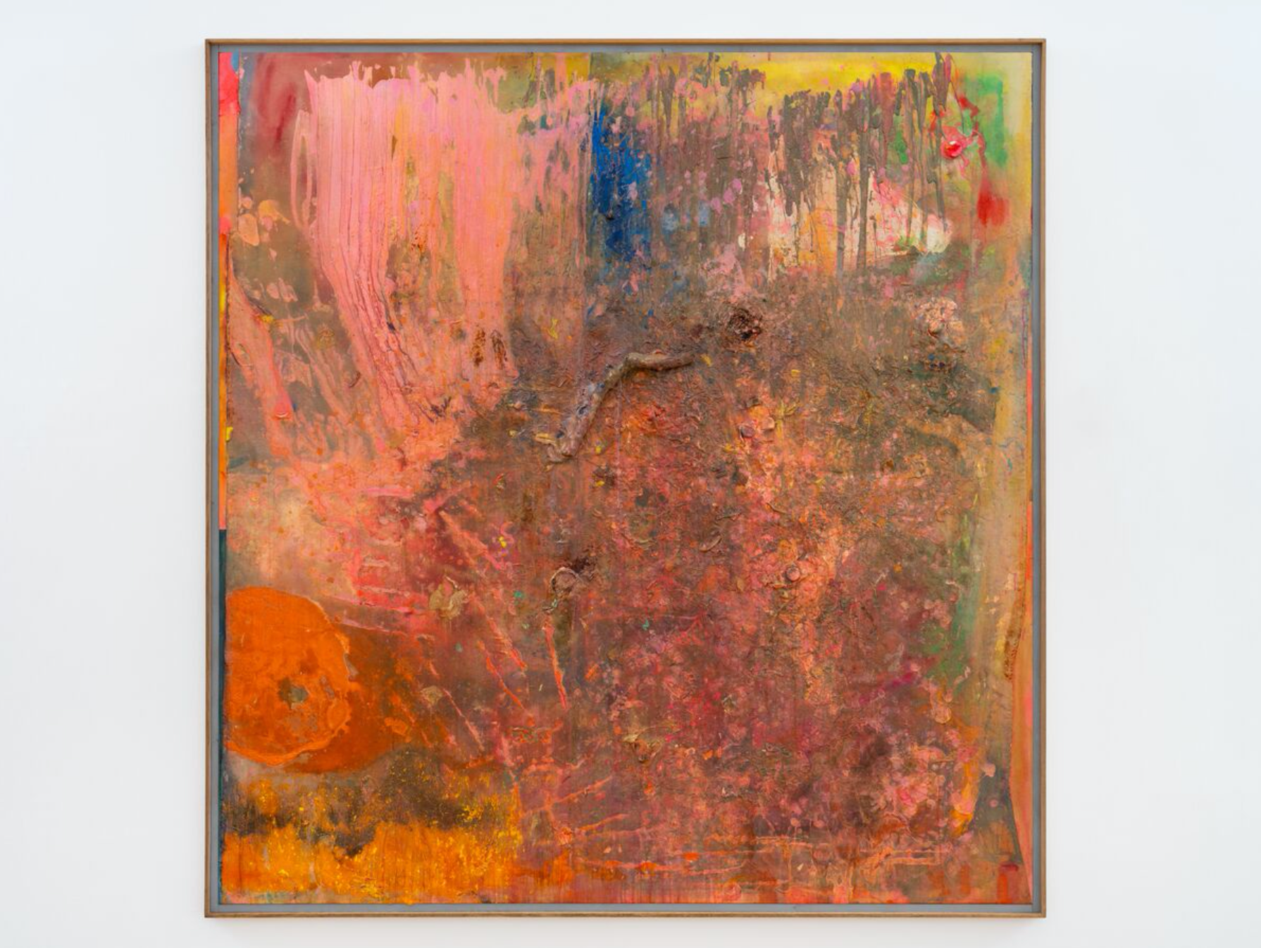 Frank Bowling, Piano to Guyana, 2004. Hauser Wirth