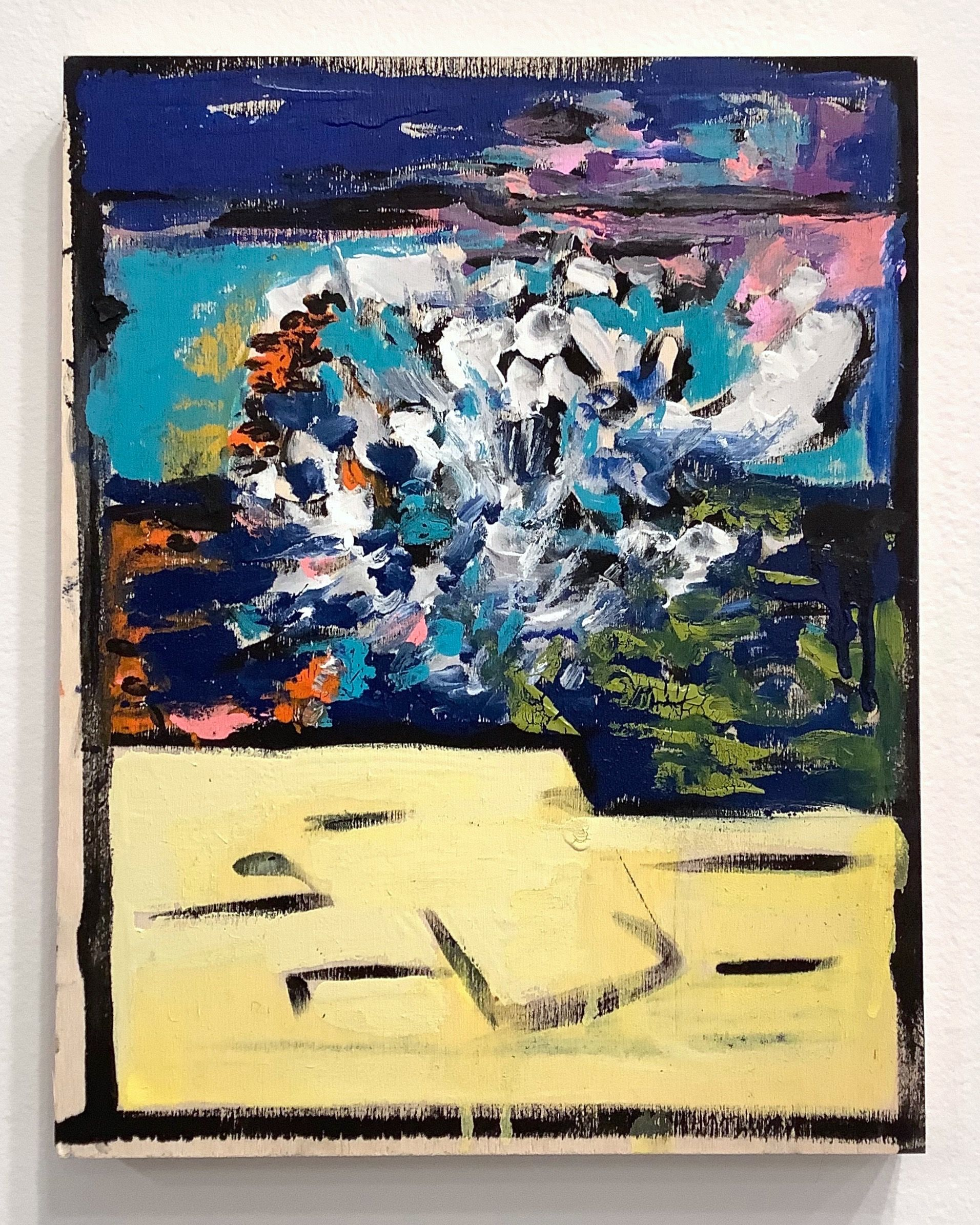 Agathe Snow, Layers, Between Earth and Sky: Sea, 2019 (