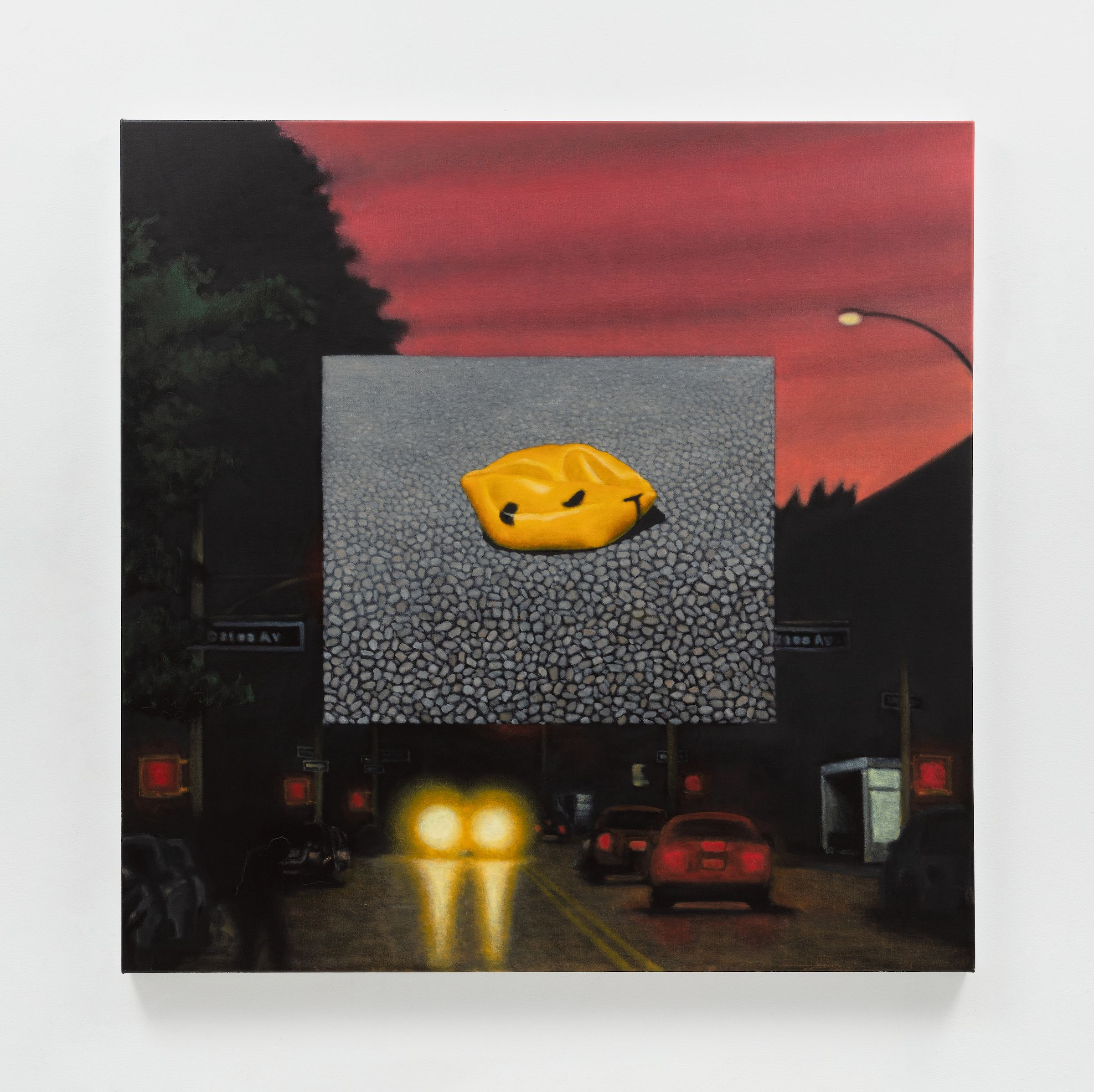 Gregory Edwards, Pedestrian Painting 7, 2020, from