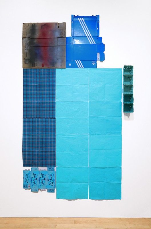 Jack Pierson, Blue, 2020, Kerry Schuss Gallery
