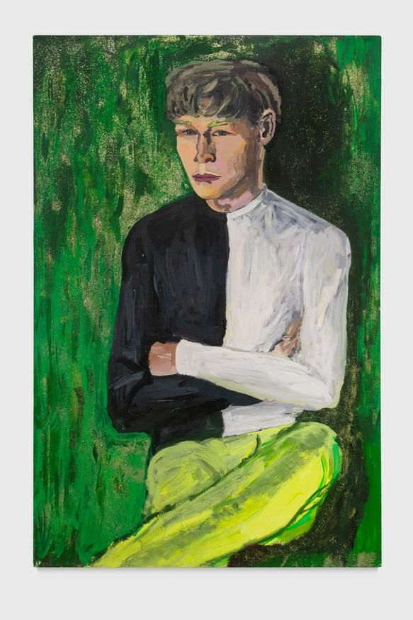 Tabboo!, Portrait of Clark Render from the Green Dimension, 1986, Gordon Robichaux