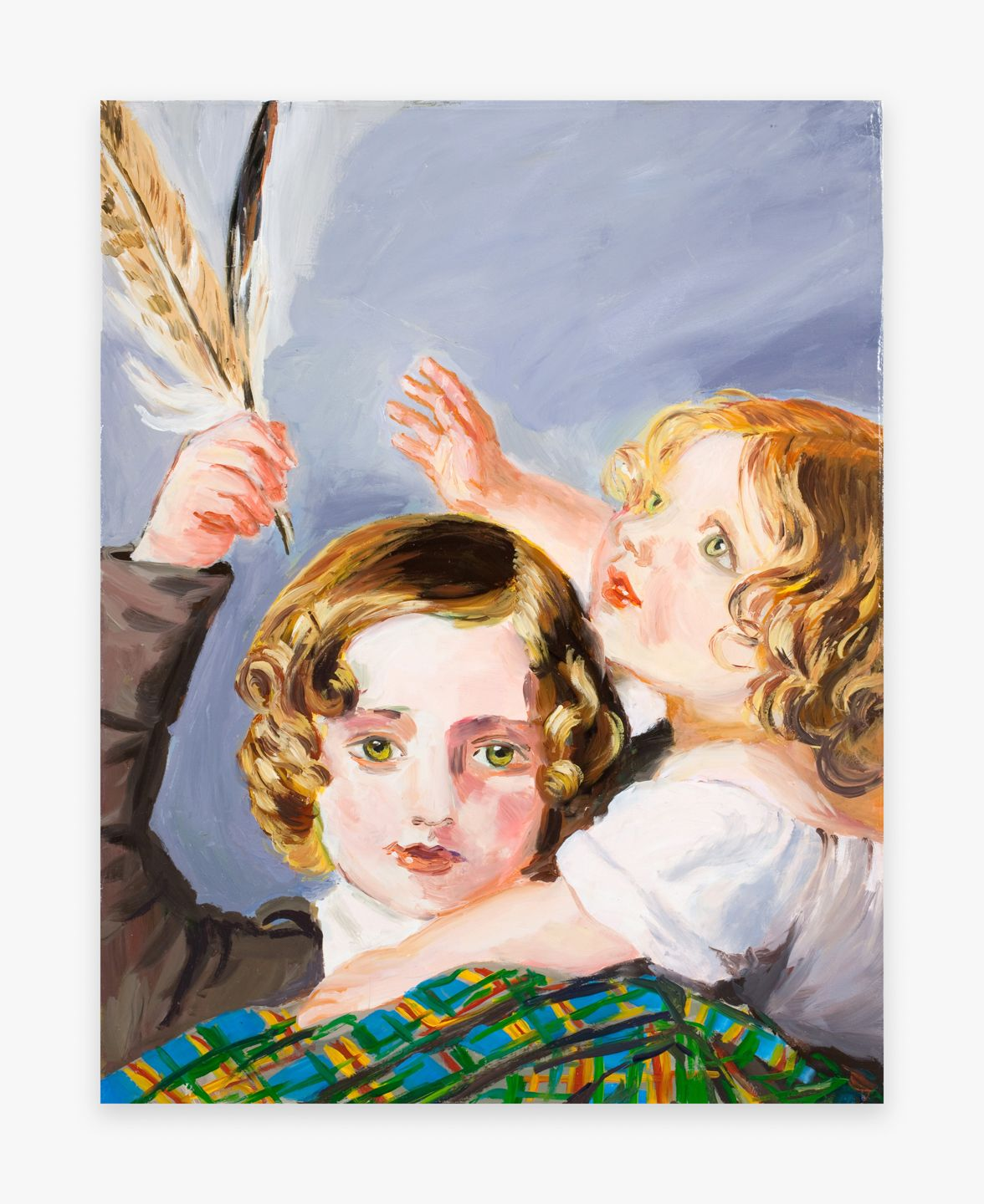 Karen Kilimnik, My Nephews in Germany by Winterhalter, 2009