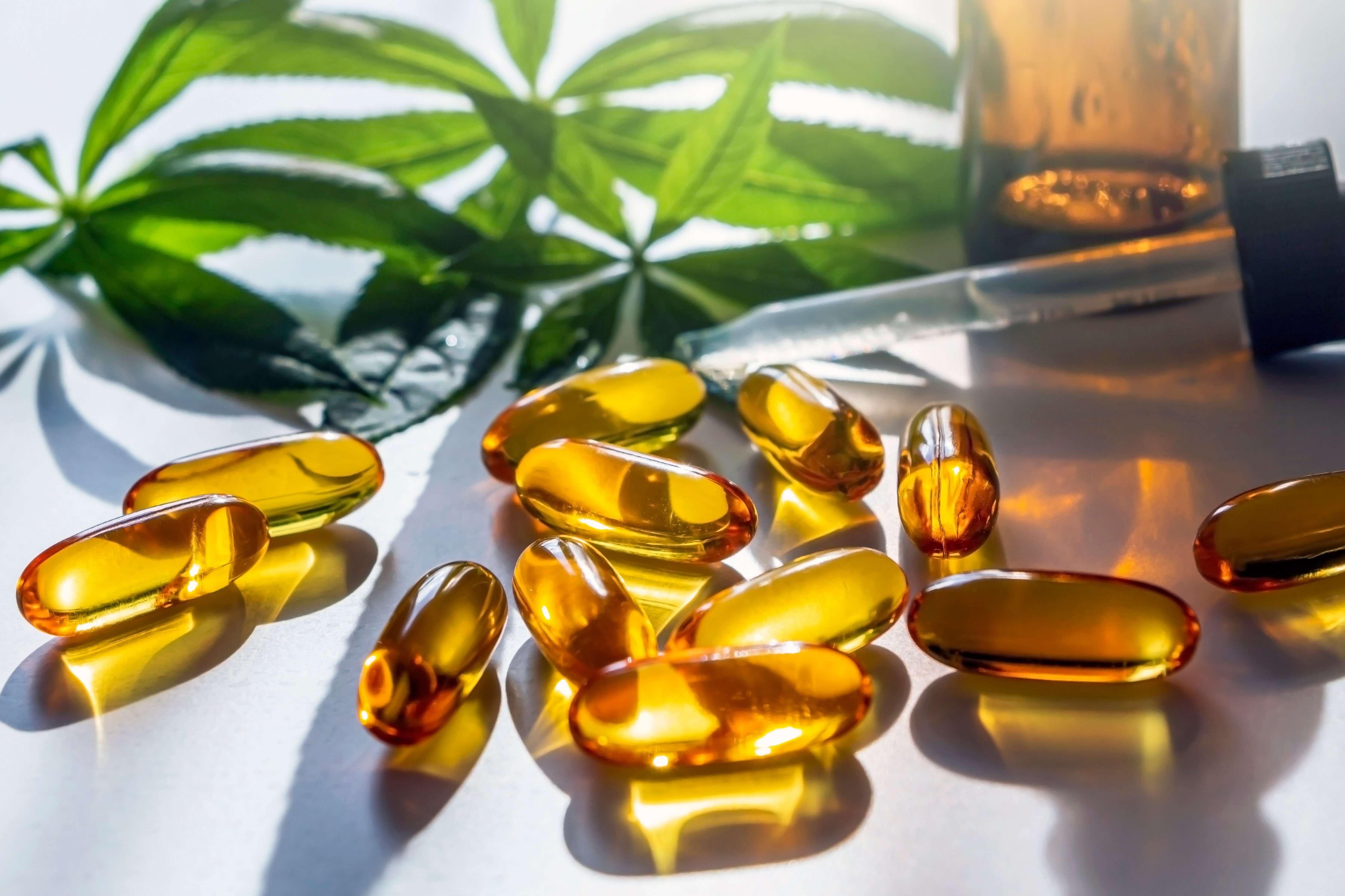 Medical marijuana oil pills