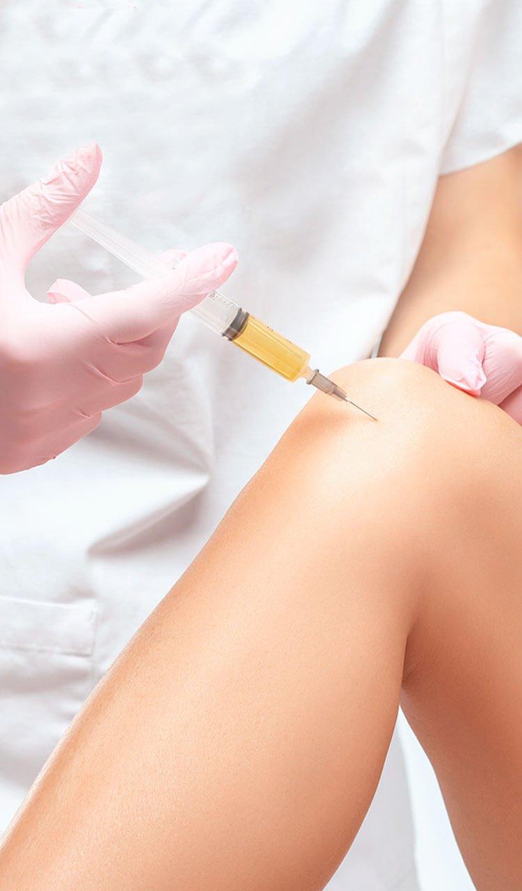 Stem cells injection