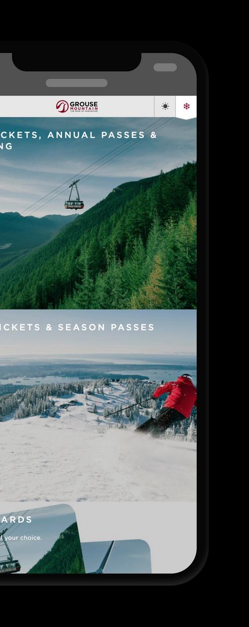 Grouse Mountain Resorts eCommerce