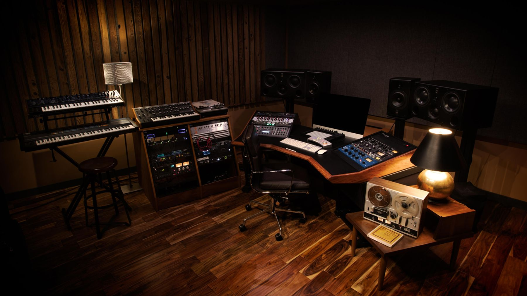 Another view of recording studio A