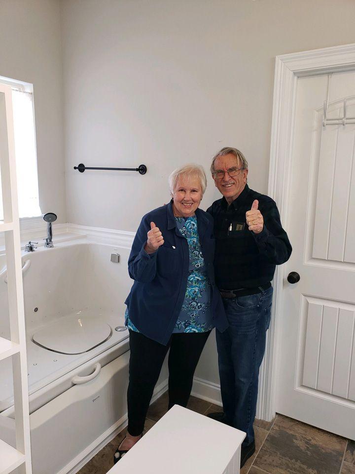 Minnesota-Elevate tub-After install
