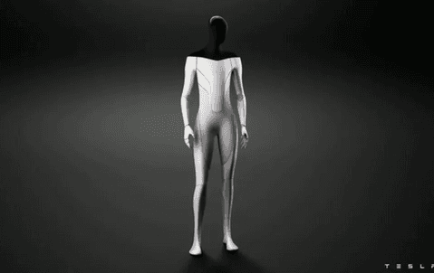 Teslas vd Elon Musk presenterade på torsdagen en humanoid robot som heter Tesla Bot