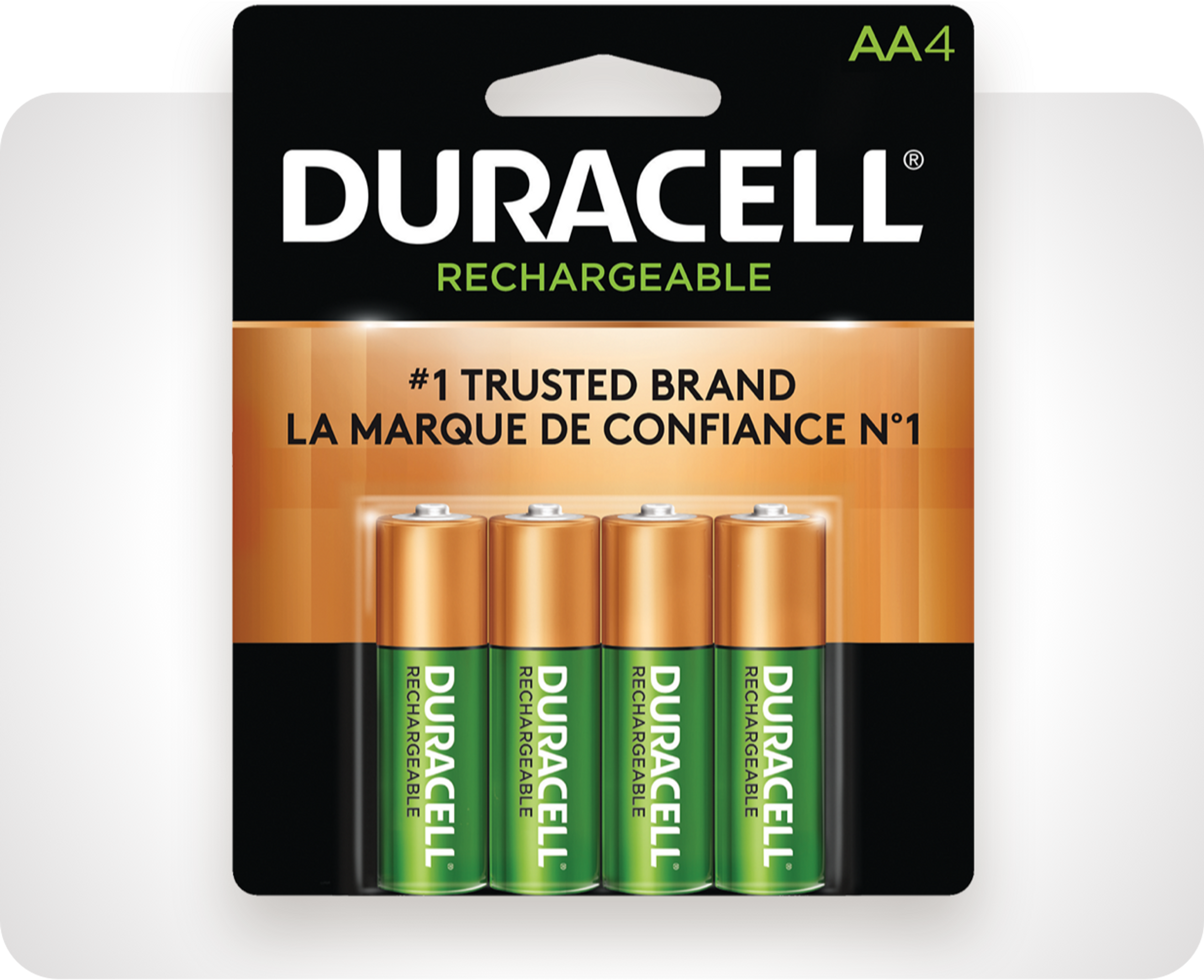 Picture of Duracell® Rechargeable NiMH batteries
