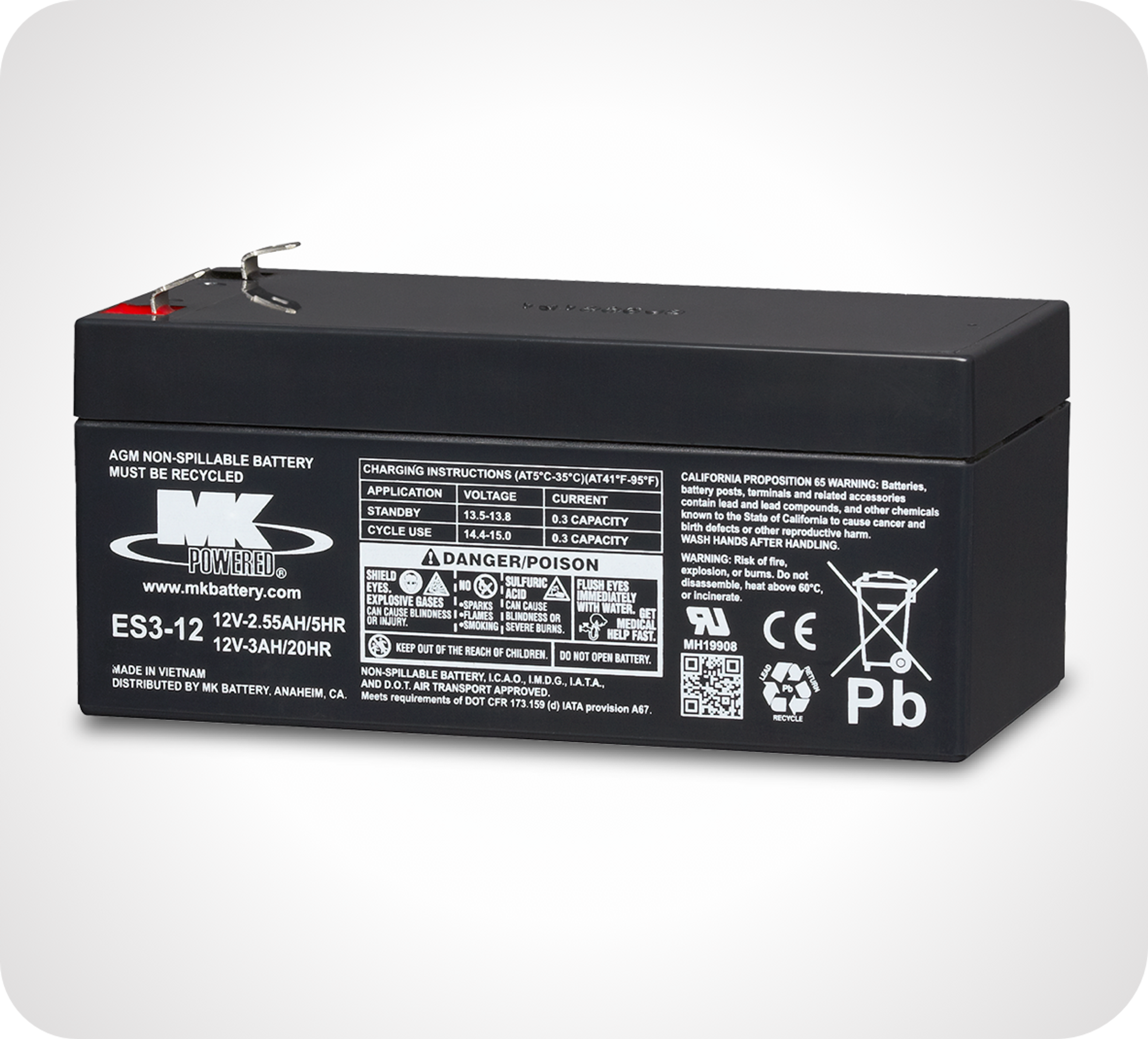Picture of Small Sealed AGM Batteries
