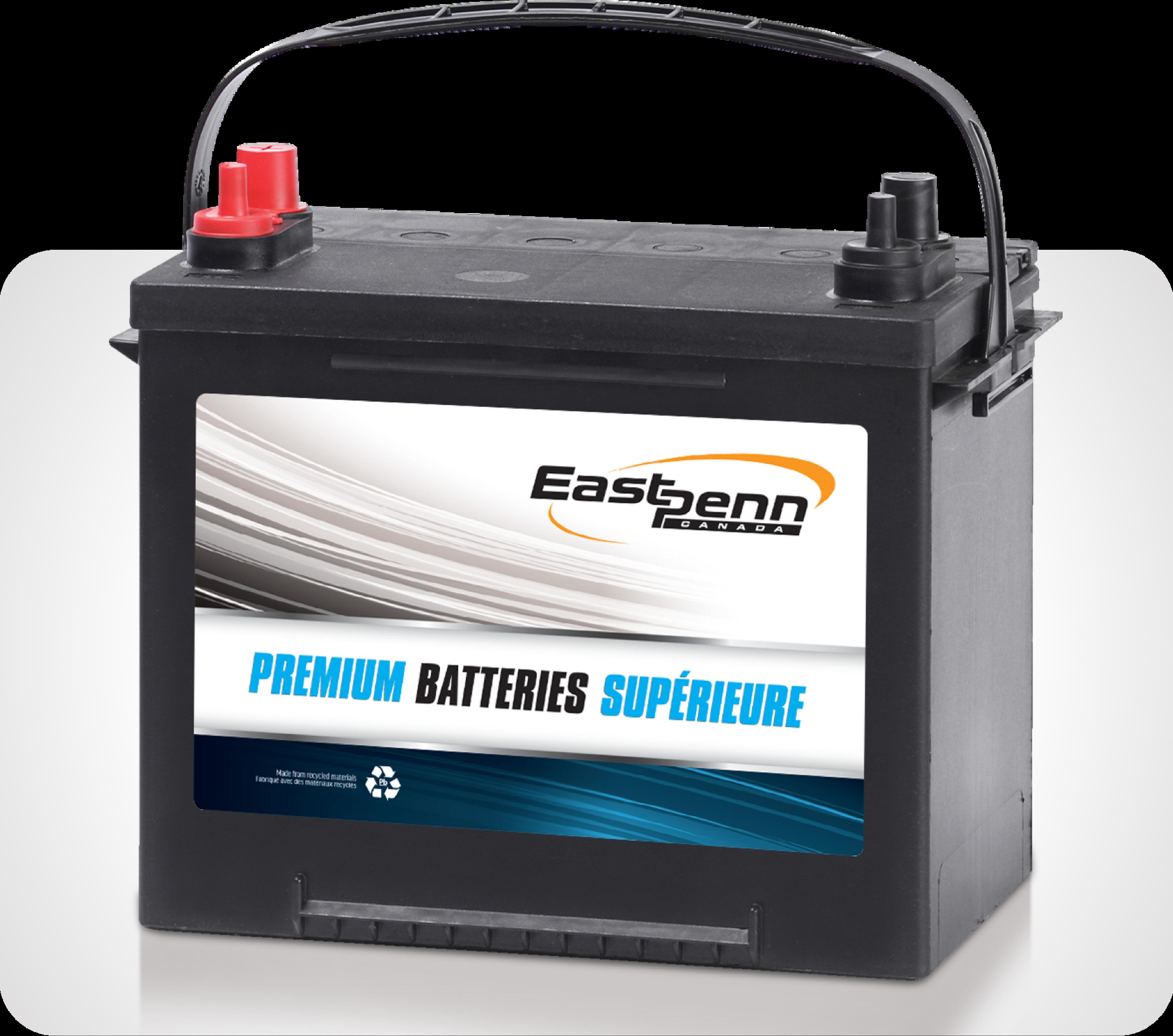 Picture of single East Penn brand premium car dual purpose batteries