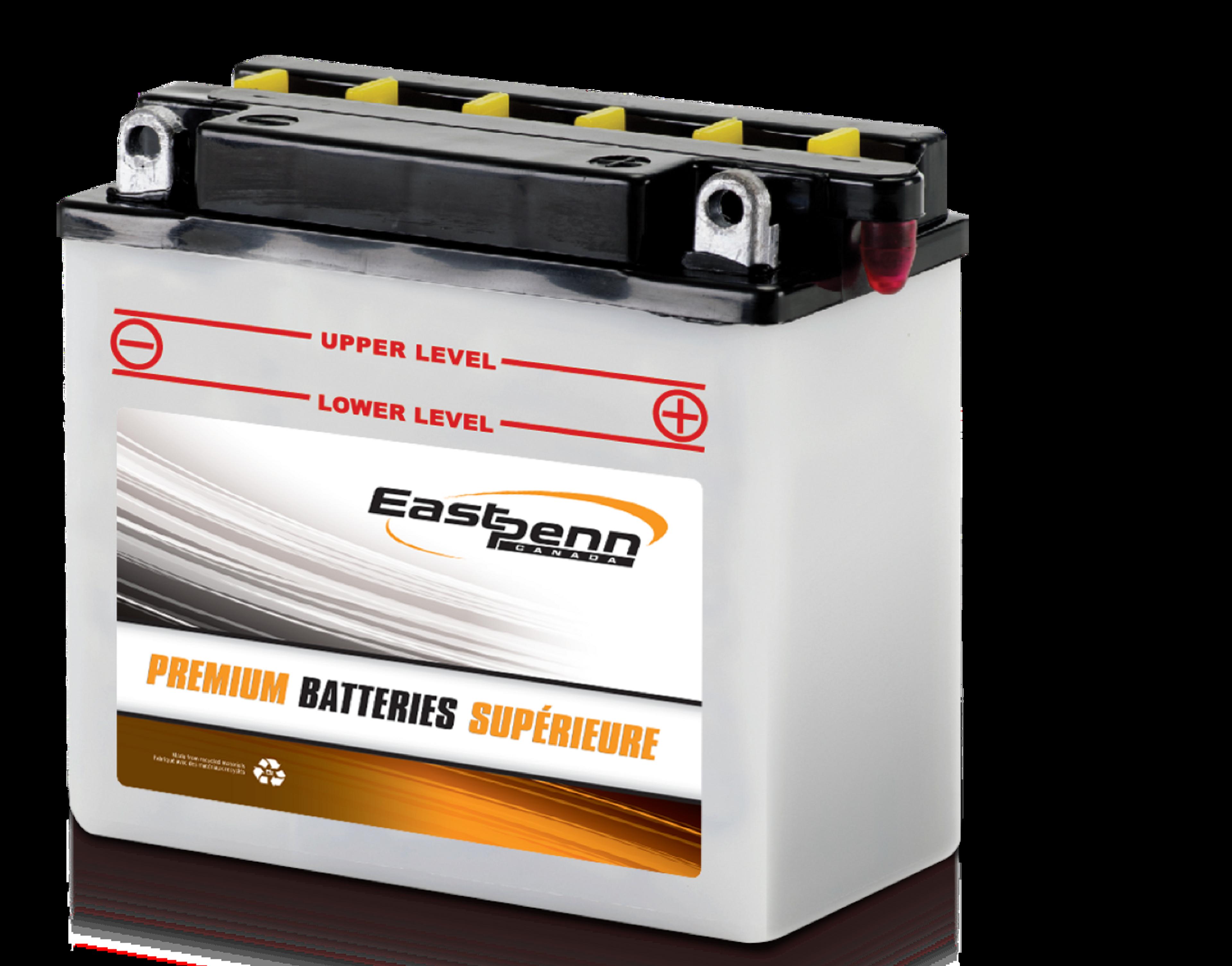 Photo d'une batterie supérieure pour sports motorisés de marque East Penn